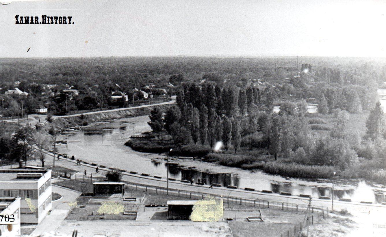 1980-ті. Вулиця Комсомольська (Паланочна)