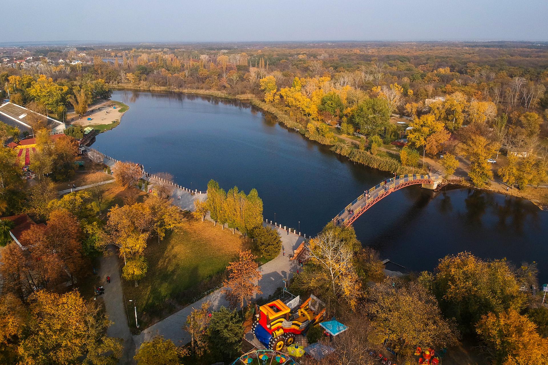 Парк им. Сучкова, октябрь 2018