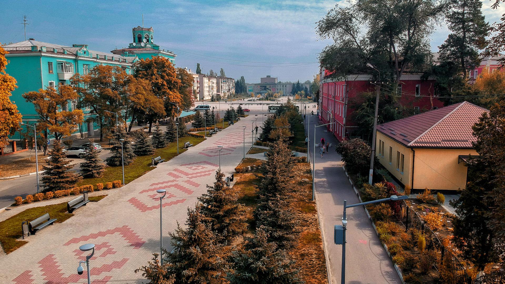 Площадь Героев, сентябрь 2019