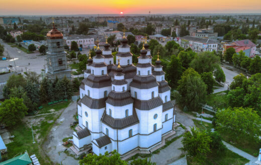 Свято-Троицкий собор в Новомосковске, Украина