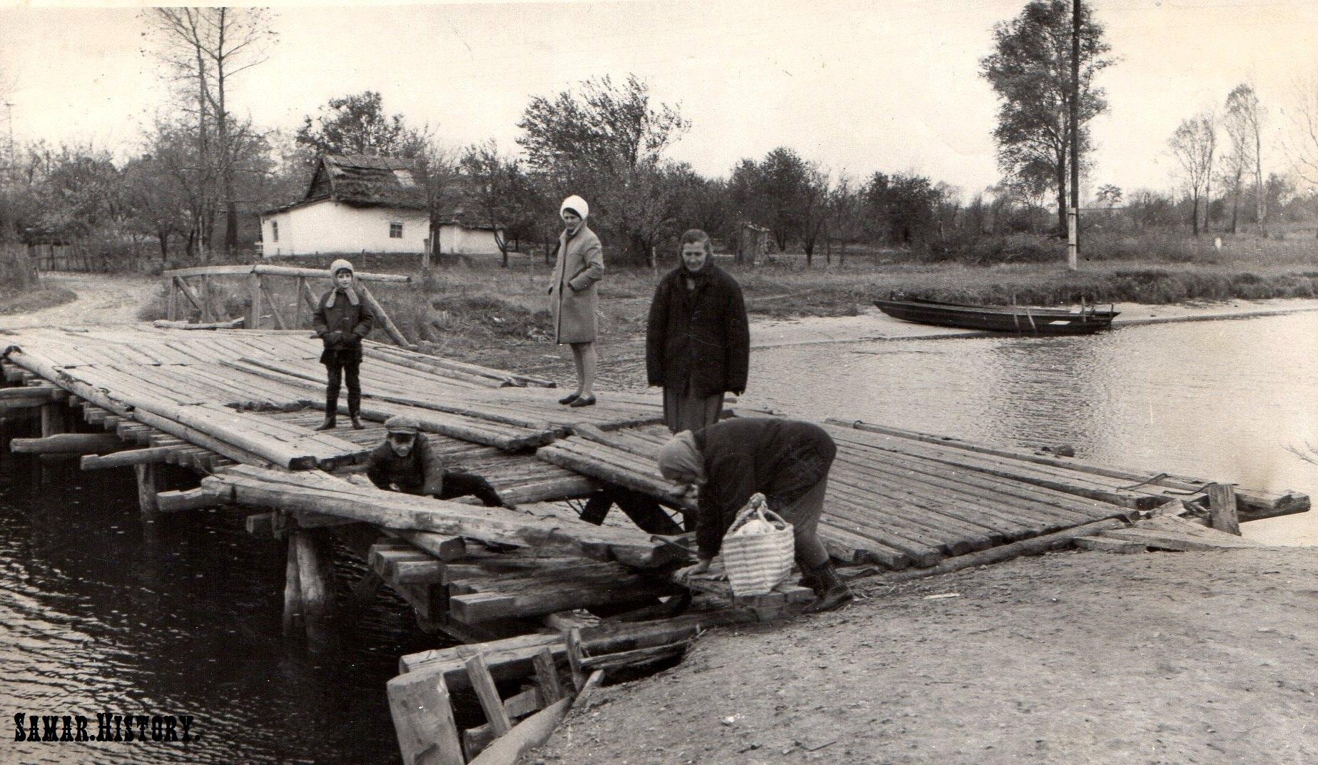 Перевал, 60-ті роки ХХ століття. Міст на Глоди
