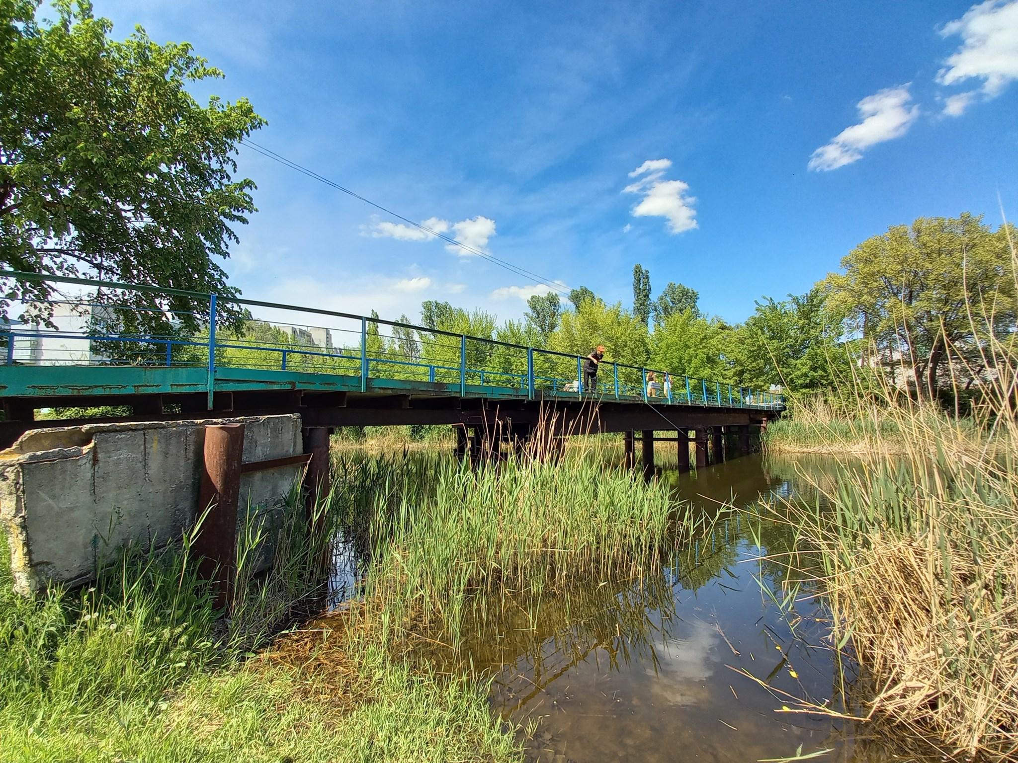 Мост на остров, май 2021